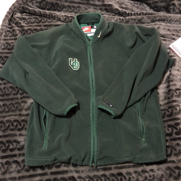 Nike Other - VINTAGE Oregon Ducks fleece Nike Zip Up